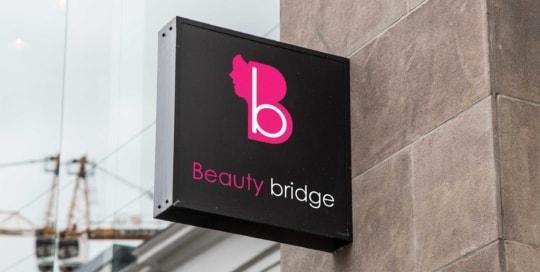 Beauty Bridge Sign